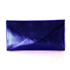 The Marlene | metallic blue