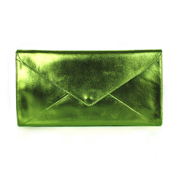 The Marlene | metallic green