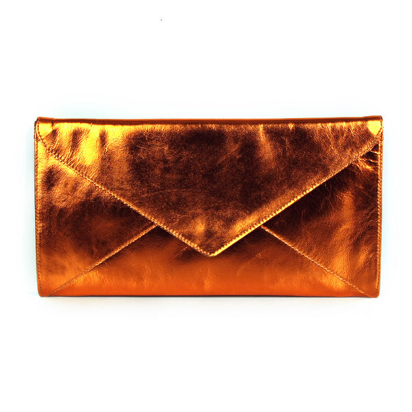 The Marlene | metallic orange