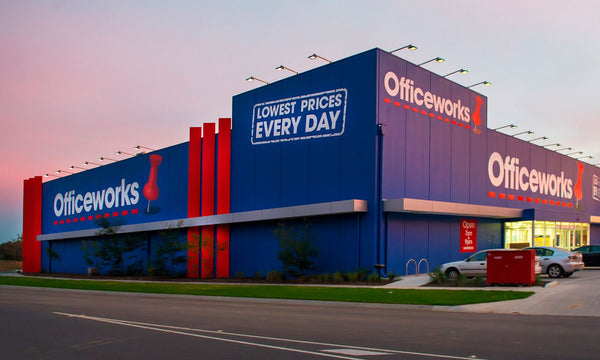 Find us in Officeworks nationwide!