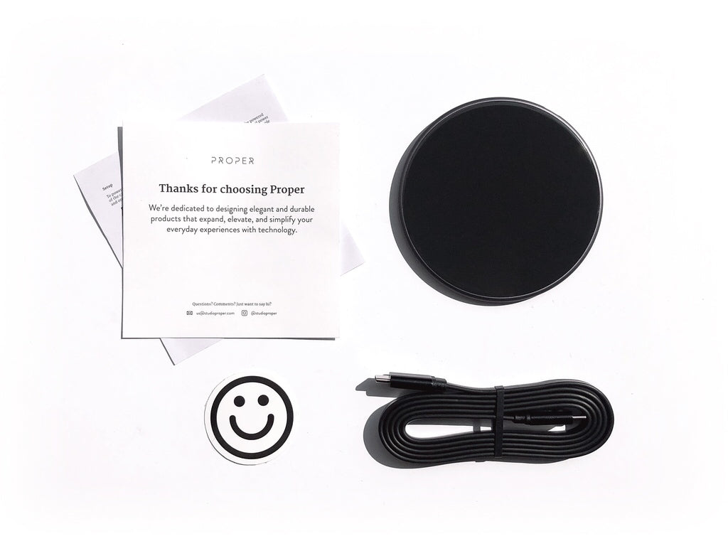 iPhone wireless charger whats in the box