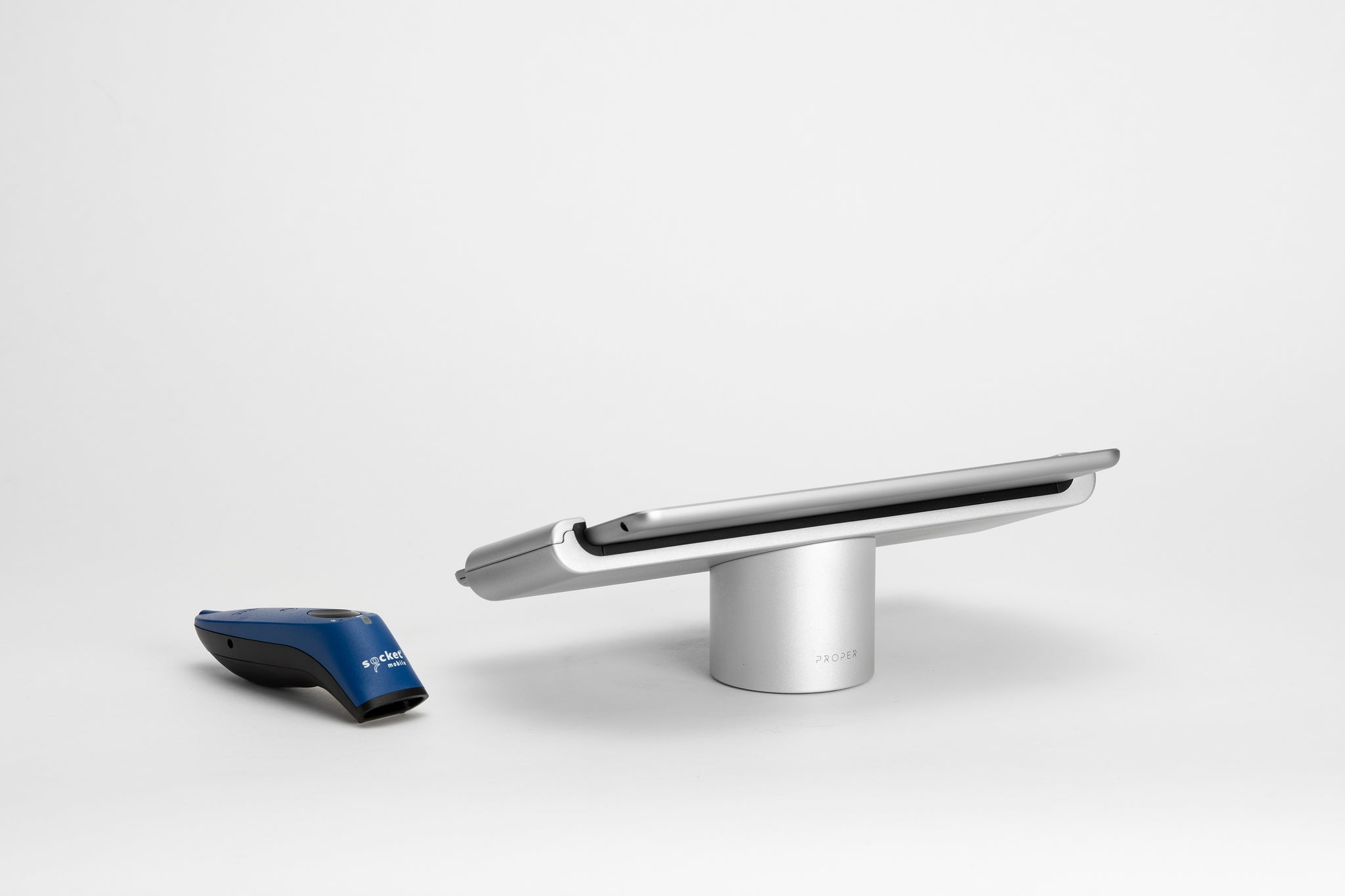 ipad point of sale stand with barcode scanner