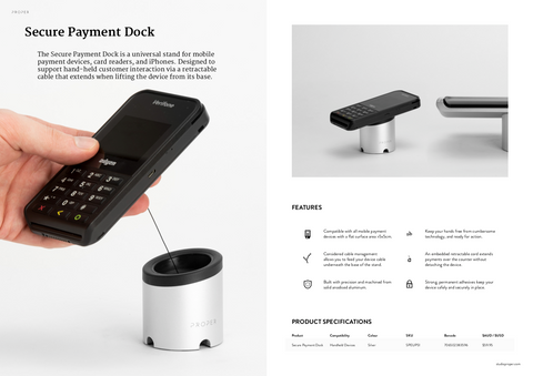 Secure Payment Dock