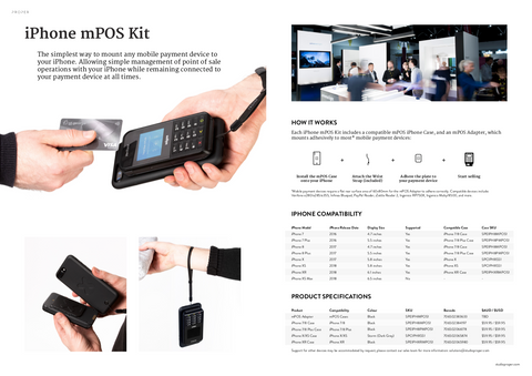 iPhone mPOS Solutions
