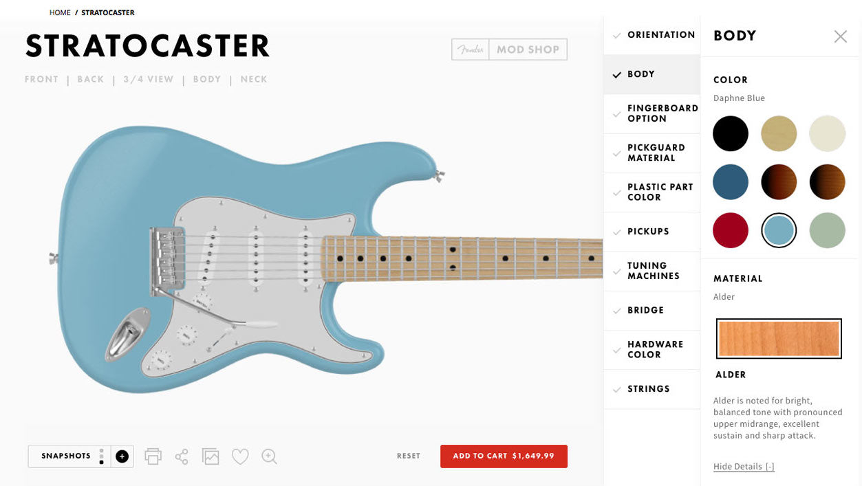 Build Your Own Fender Guitar