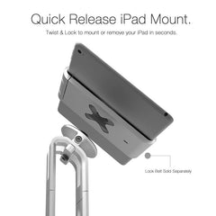 POS Flex Stand with quick release iPad mount