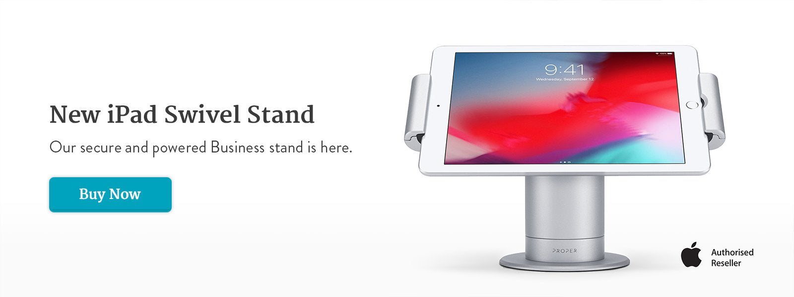 Introducing the new iPad Swivel Stand for Business