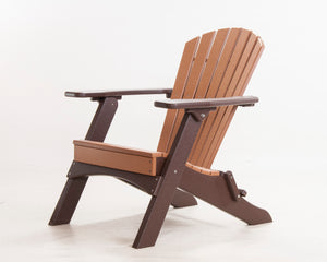 Adirondack Poly Lumber Folding Chair