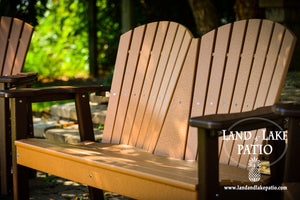 Bench, 2 Glider Chair collection Poly Lumber