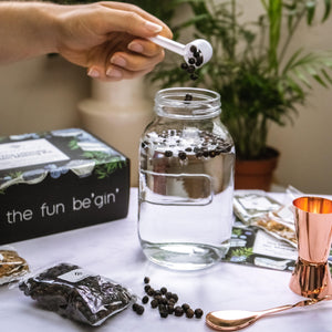 The Ultimate Gin Making Kit with Rose Gold Bar Accessories
