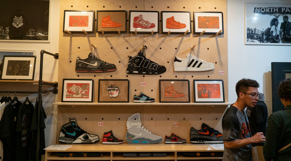 Art Night Photos - FY x Sneaker Lab x Robert Lievanos