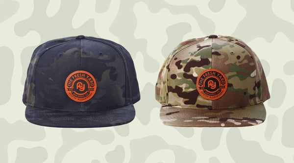 New FY Camo Hats Available Now