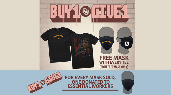 Buy1Give1 Face Masks & Tee