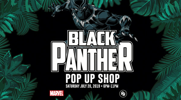 Marvel Black Panther Pop-Up During Comic Con