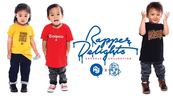 Kids Rapper Delights Photoshoot