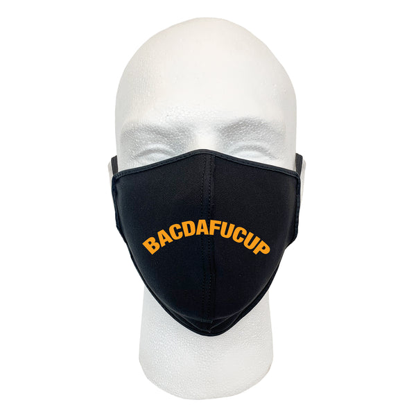 BACDAFUCUP Face Mask (black)