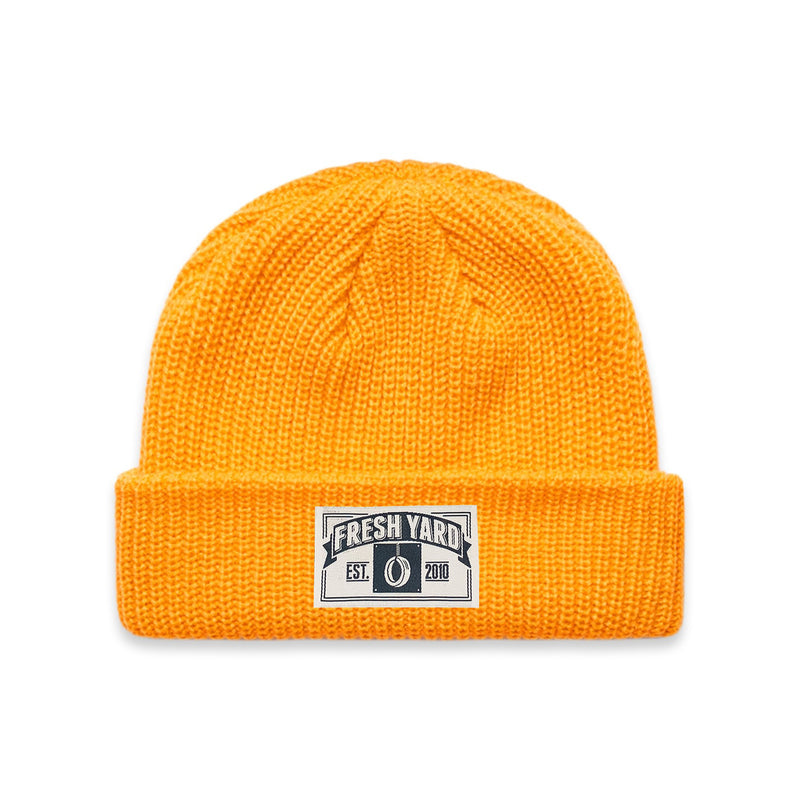 Back In The Days Beanie (yellow)
