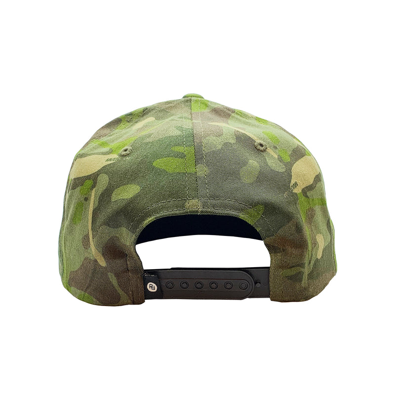 FY Leather Patch Hat (tropic camo)