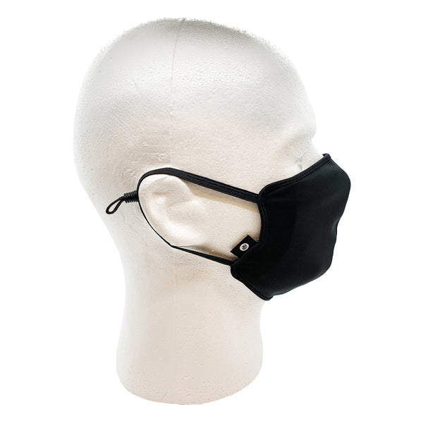 FY Label Blank Face Masks (black)