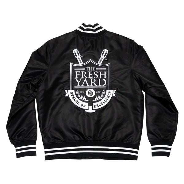 FY Shield Bomber Jacket (black)