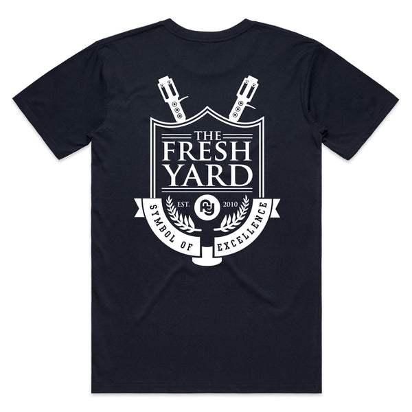 FY Shield Tee (navy)