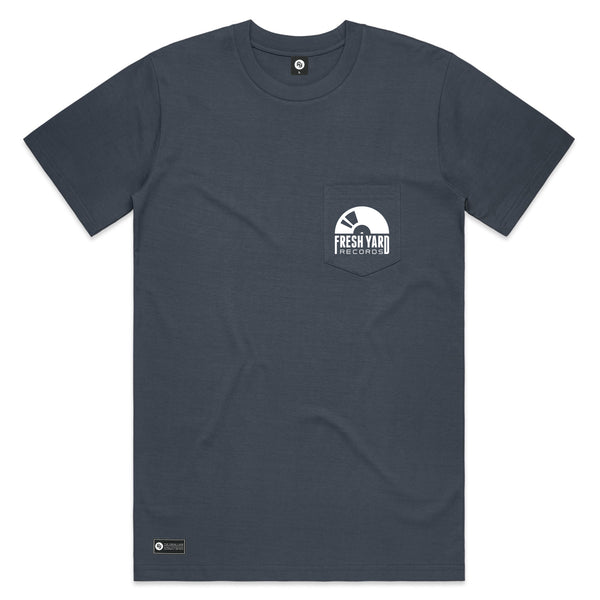 FYR Logo Pocket Tee (blue)