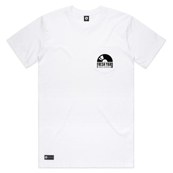 FYR Logo Pocket Tee (white)
