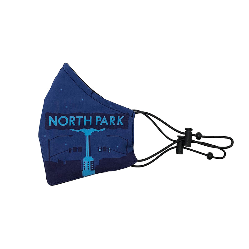 North Park Face Mask (blue)