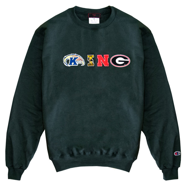King Crewneck Sweatshirt (green)