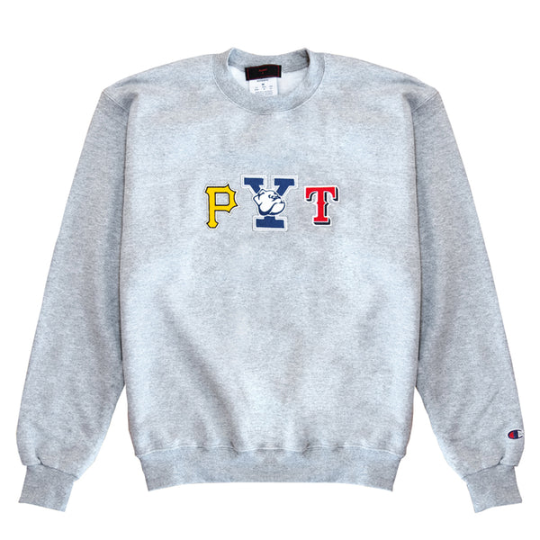 Pretty Young Thing Crewneck Sweatshirt (grey)