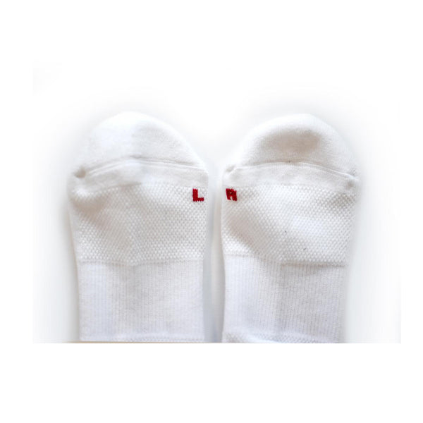 Fuck Off Running Socks (white)