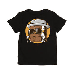 Kid's Biggie S'mores Tee (black)