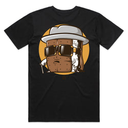 Men's Biggie S'mores Tee (black)