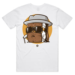 Men's Biggie S'mores Tee (white)