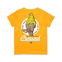Kid's Ol' Dirty Custard Tee (yellow)