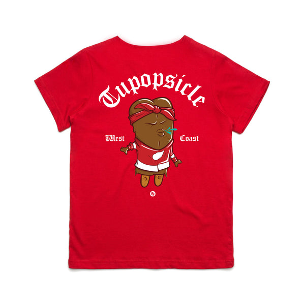 Kid's Tupopsicle Tee (red)