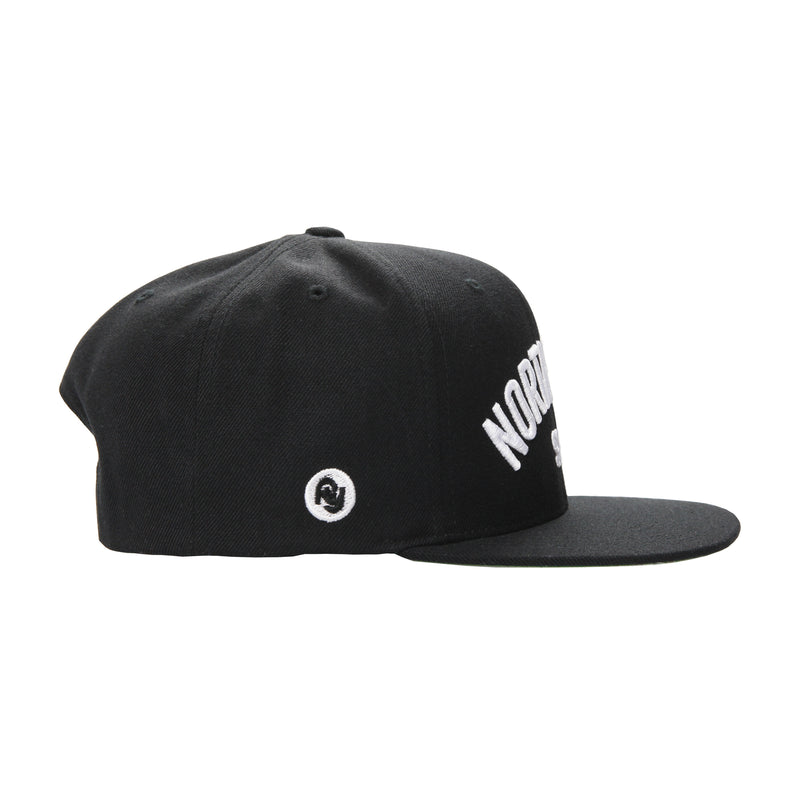 North Park USS Snapback Hat (black)