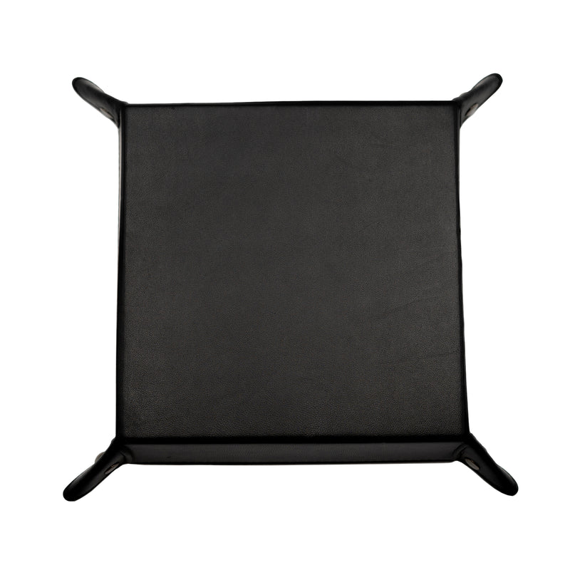 FY Leather Catchall Tray (black)