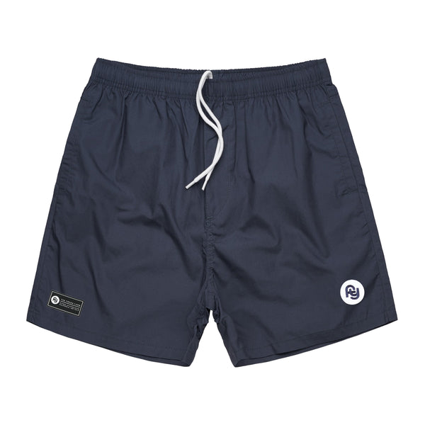 FY Logo Beach Shorts (navy)