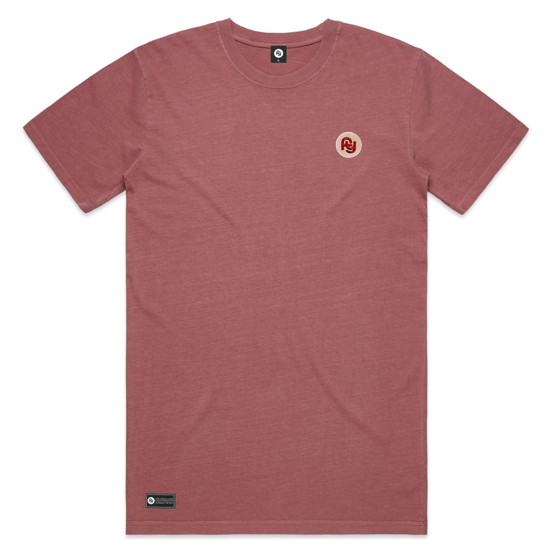 FY Logo Faded Tee (maroon)