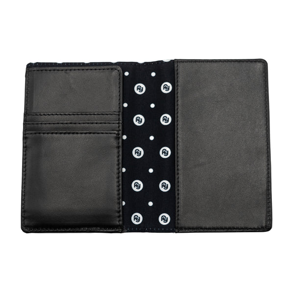 Leather Passport Holder (black)