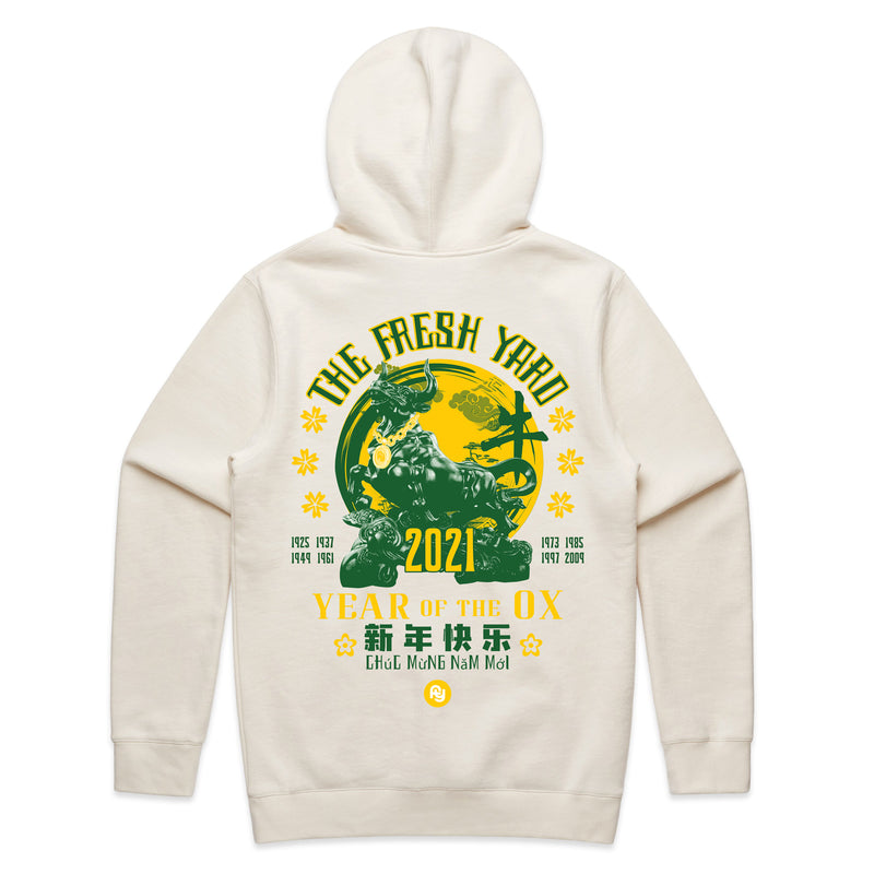 Year Of The Ox Hoodie (cream)