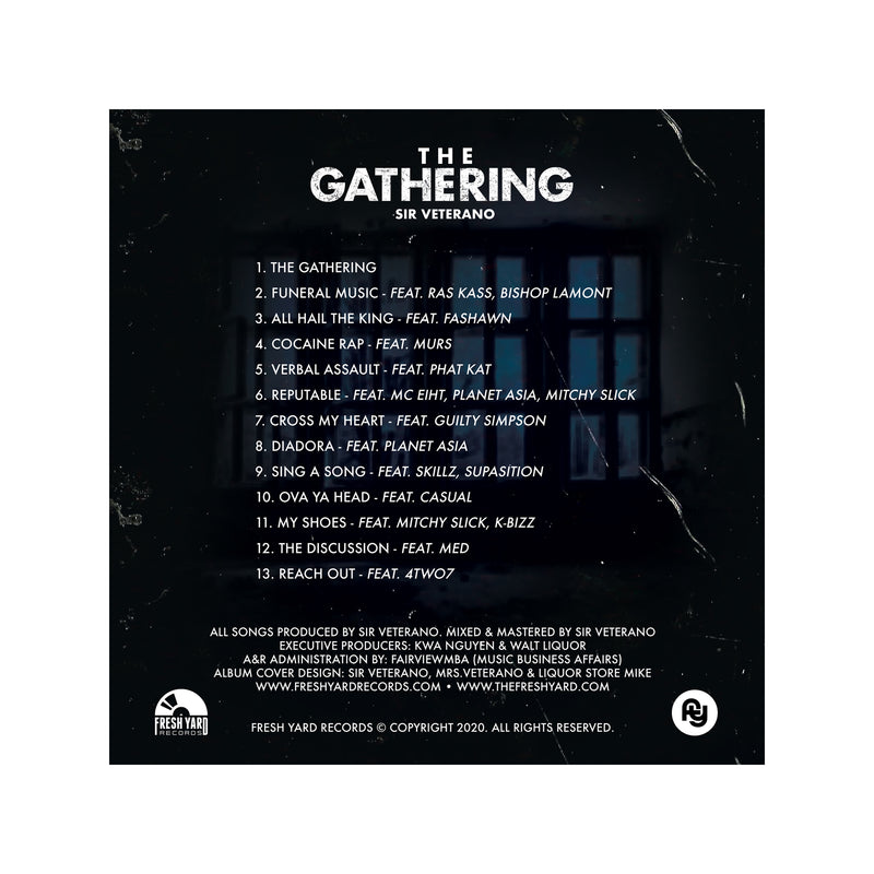 The Gathering Tee + Digital Album (black)