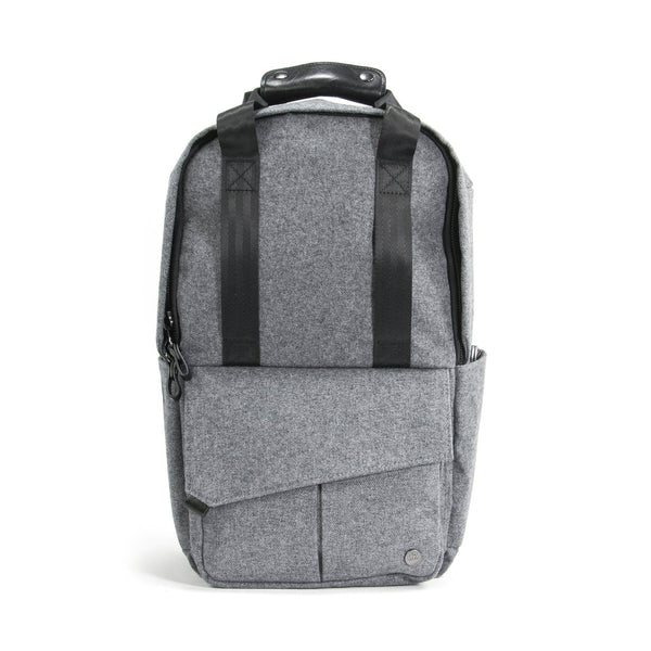 Mini Rosseau Backpack (grey wool)
