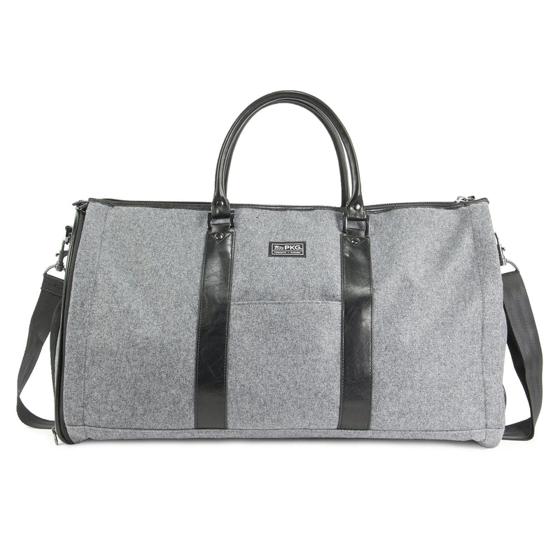 Rosedale Duffel Garment Bag (wool grey)