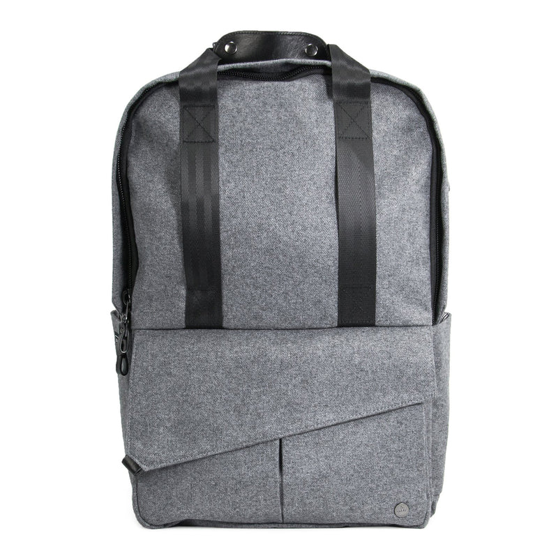 Rosseau Backpack (wool grey)