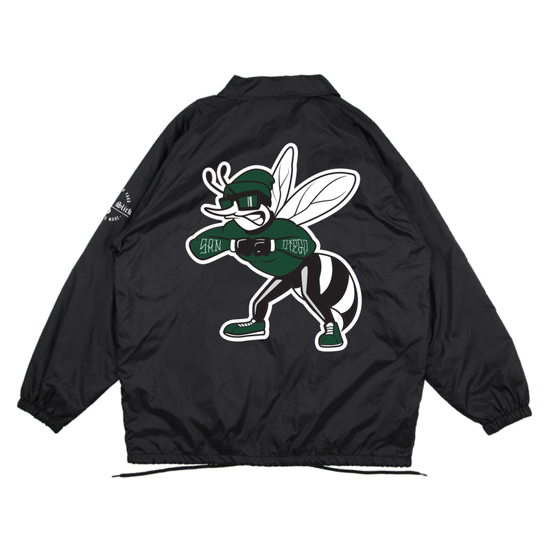 FY x Mitchy Slick - Hornet Coaches Jacket (black)