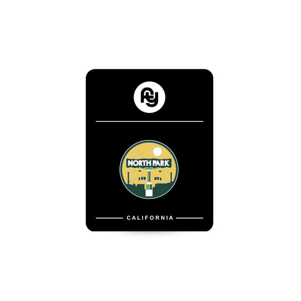 "NP Sign Lapel Pin (1"")"