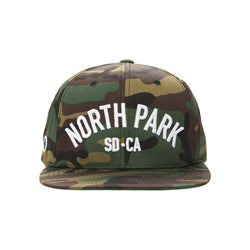 North Park USS Snapback Hat (camo)