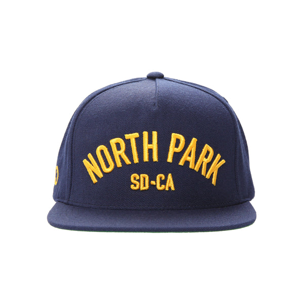 North Park USS Snapback Hat (navy)
